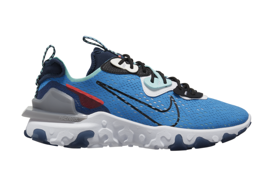 Nike React Vision Releasing in 'Photo Blue'