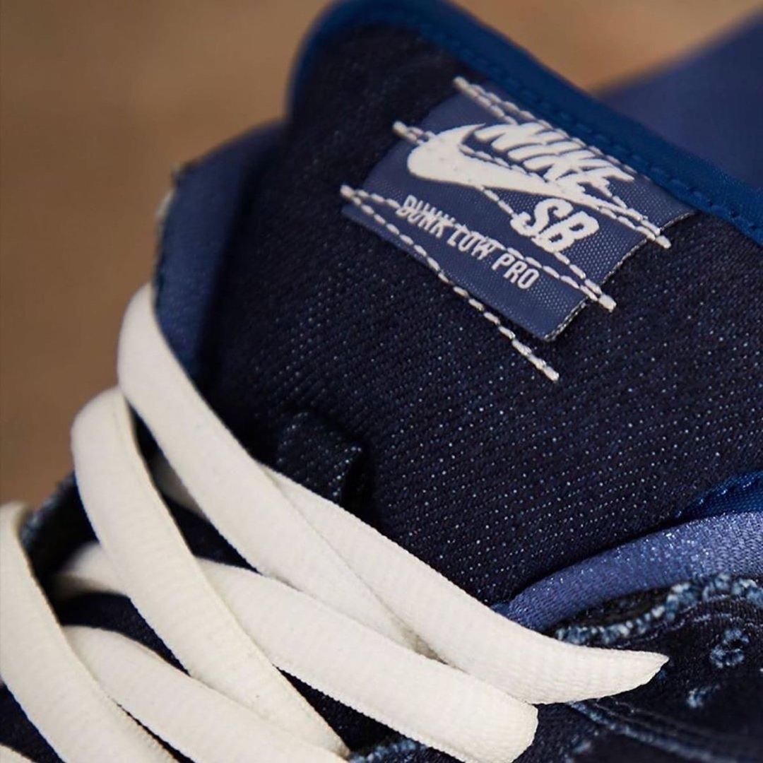 Nike SB Dunk Low Sashiko Denim Gum CV0316-400 Release Date