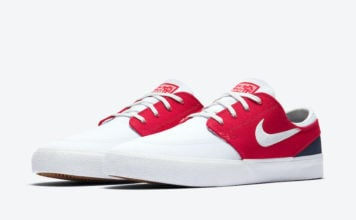 Nike SB Stefan Janoski White University Red Midnight Navy AR7718-105 Release Date Info