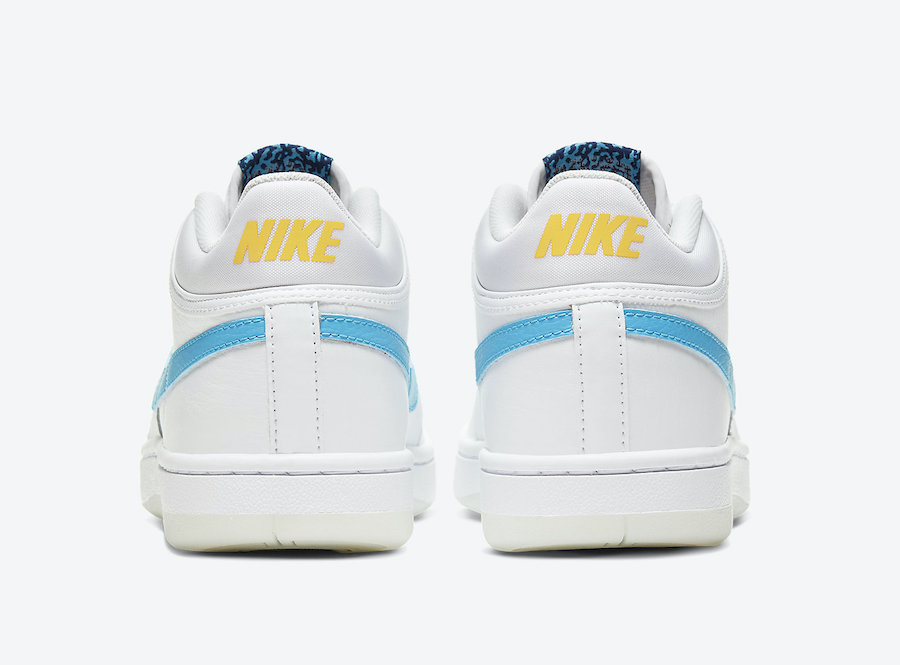 Nike Sky Force 3/4 Blue Fury CT8448-101 Release Date Info