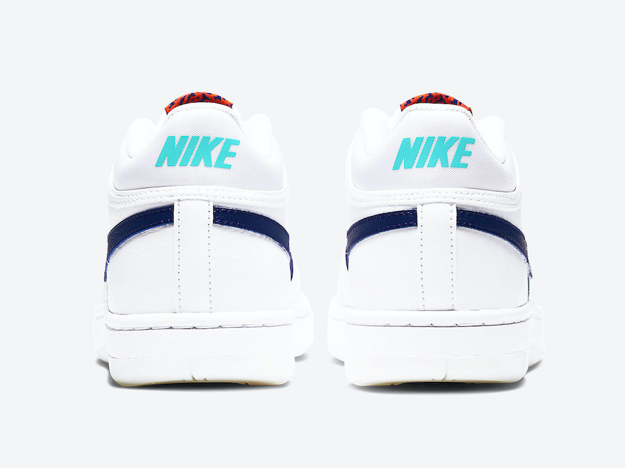 Nike Sky Force 3/4 White Navy CT8448-100 Release Date Info
