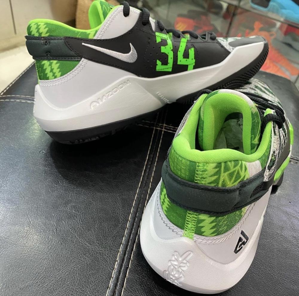 Nike Zoom Freak 2 Green White Release Date