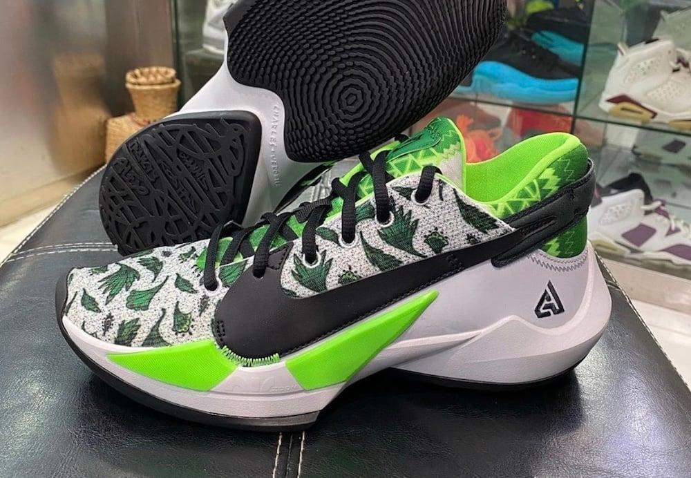 Nike Zoom Freak 2 Green White