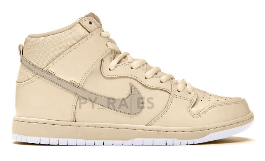 Notre Nike Dunk High Light Orewood Brown White Release Date Info