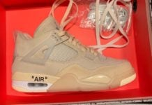 Off-White Air Jordan 4 Womens Sail CV9388-100