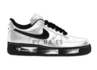 PEACEMINUSONE Nike Air Force 1 Para-Noise White Black Release Date Info