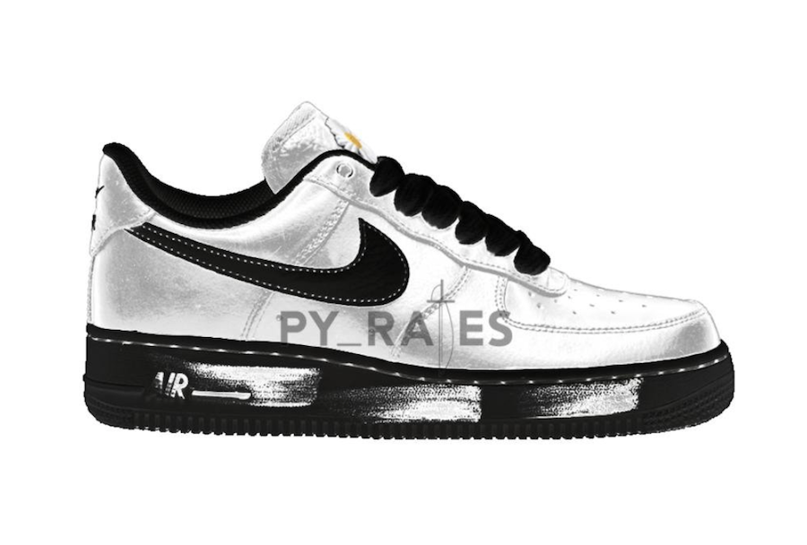 PEACEMINUSONE Nike Air Force 1 Para-Noise White Black Release Date Info