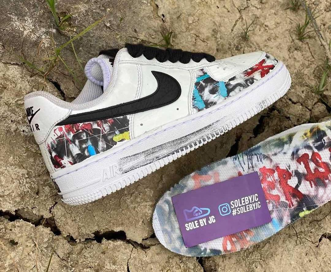PEACEMINUSONE Nike Air Force 1 White Black DD3223-100 Release Date