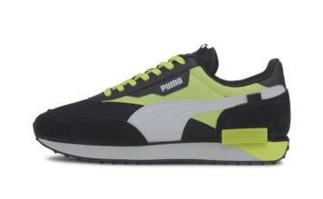 Puma Future Rider Neon Black Fizzy Yellow 373383-01 Release Date Info