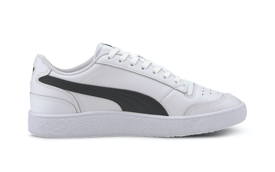 Puma Ralph Sampson Low White Black 370846-11 Release Date Info