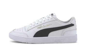Puma Ralph Sampson Low White Black 370846-11 Release Date Info