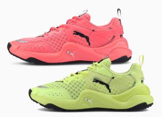 Puma Rise Neon Pack 372444-01 372444-02 Release Date Info