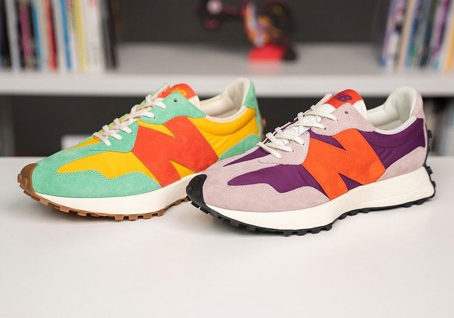 size? New Balance 327 Release Date Info