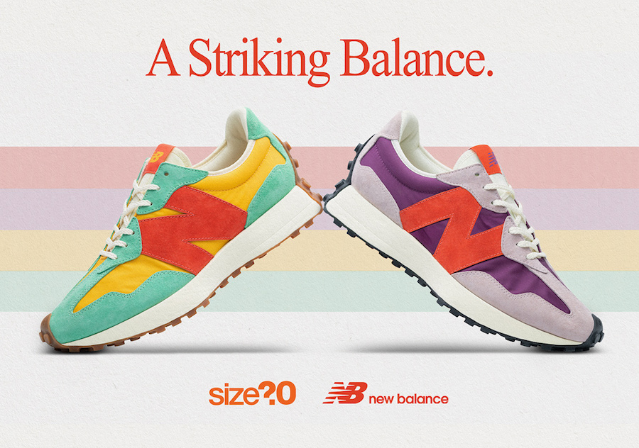 size? New Balance 327 Release Date