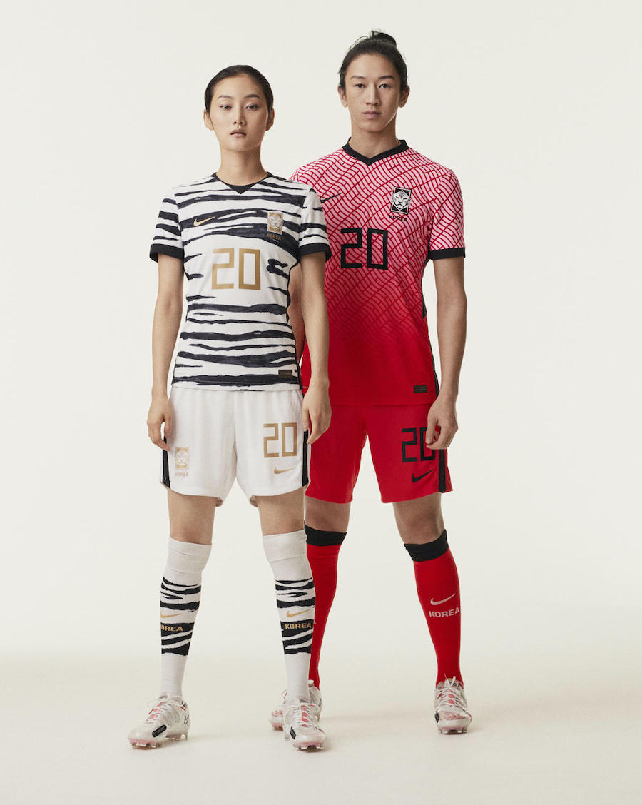 South Korea 2020 Away Soccer Jerseys