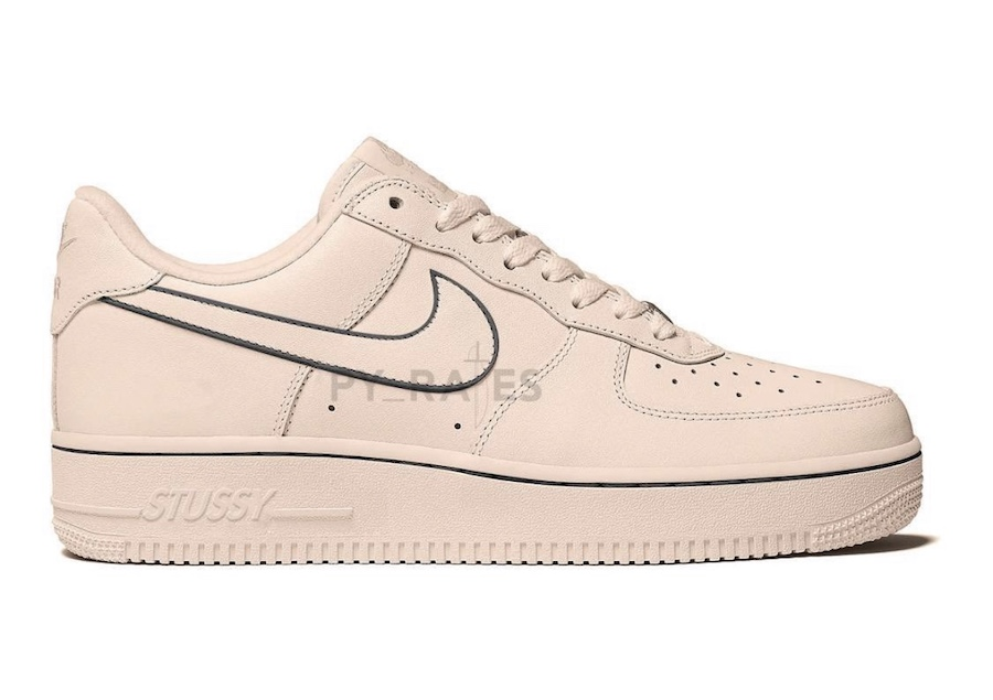 Stussy Nike Air Force 1 Low Fossil Stone Release Date Info