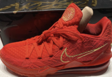 Titan Nike LeBron 17 Low Agimat