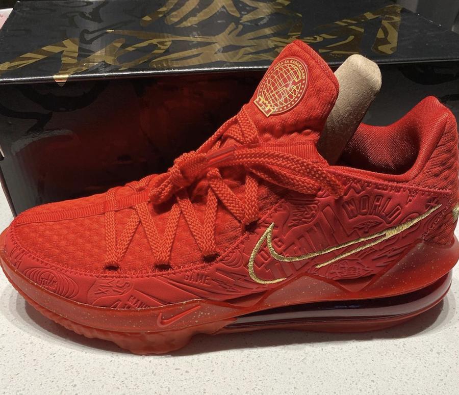 Titan Nike LeBron 17 Low Agimat Release Date Info
