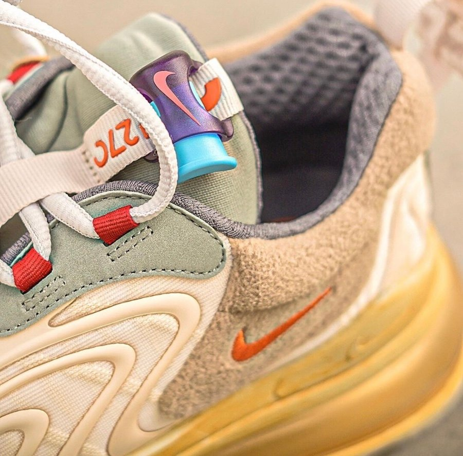 Travis Scott Nike Air Max 270 React CT2864-200 Release