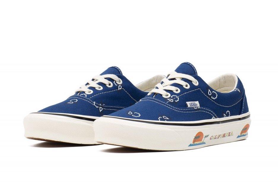 Vans UA OG Era LX Paisley Blue Release Date Info
