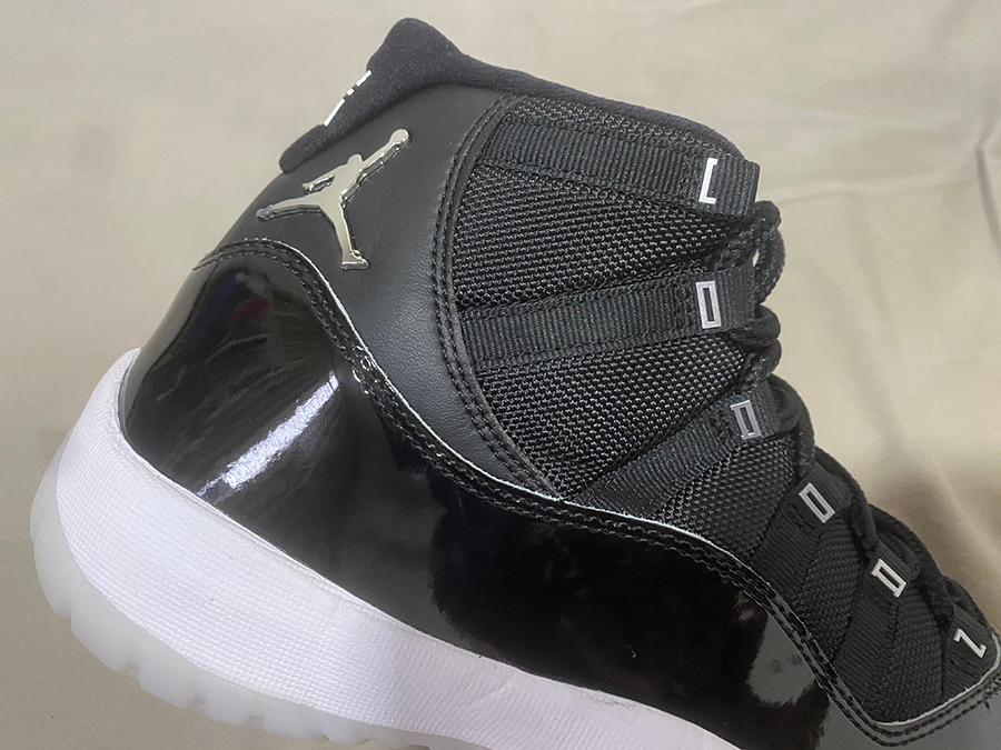 25th Anniversary Air Jordan 11 Black Silver CT8012-011 Release Date