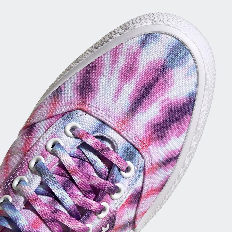 adidas 3MC Tie-Dye Purple Tint FY2448 Release Date Info