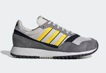 adidas Ashurst SPZL Grey Yellow Black FV5479 Release Date Info