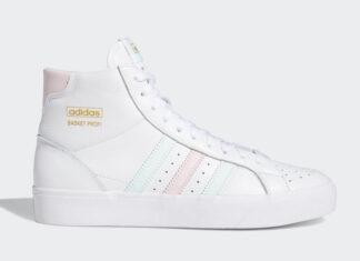 adidas Basket Profi White Green Pink FW4515 Release Date Info