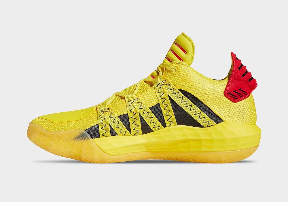 adidas Dame 6 Hot Rod FW8498 Release Date Info