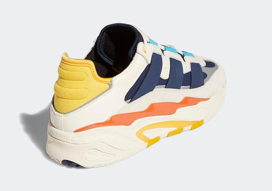 adidas Streetball Cream White Signal Cyan Collegiate Navy FV4842 Release Date Info