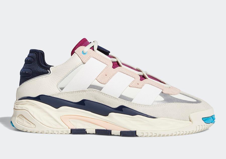 adidas Niteball Off-White Cream White Pink Tint FW3317 Release Date Info