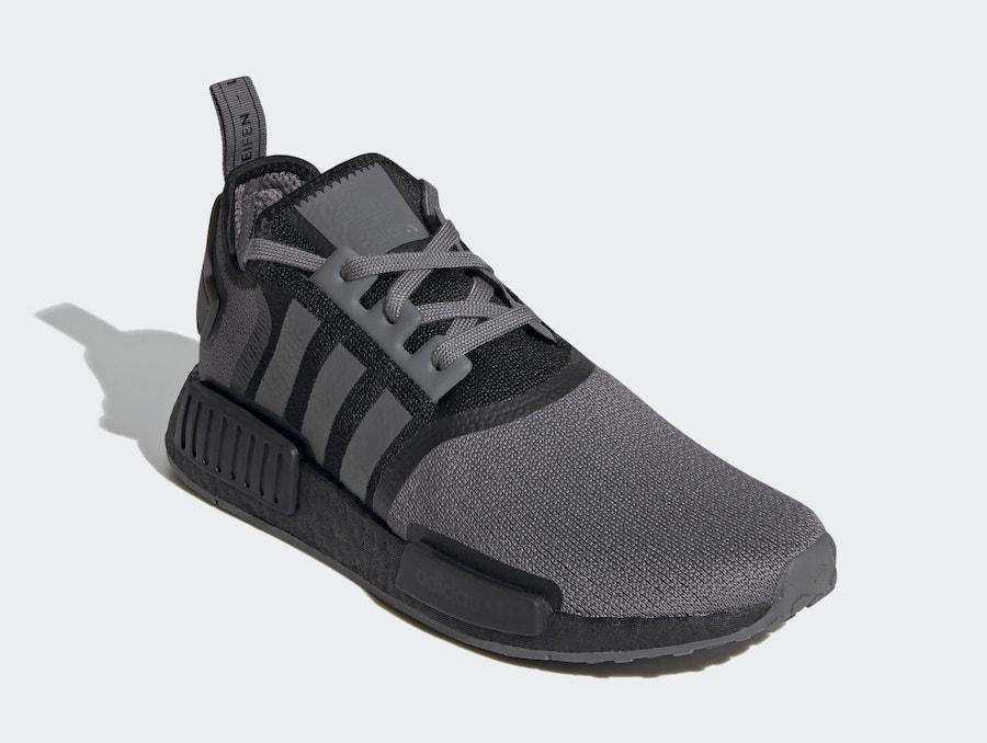 adidas NMD R1 Grey Black FV1733 Release Date Info