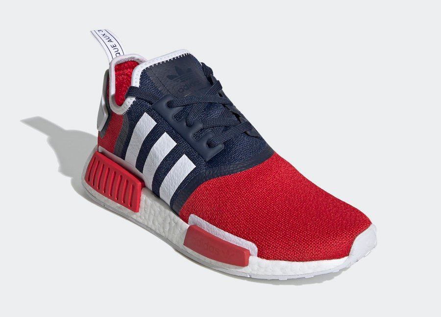 adidas NMD R1 Navy Scarlet FV1734 Release Date Info