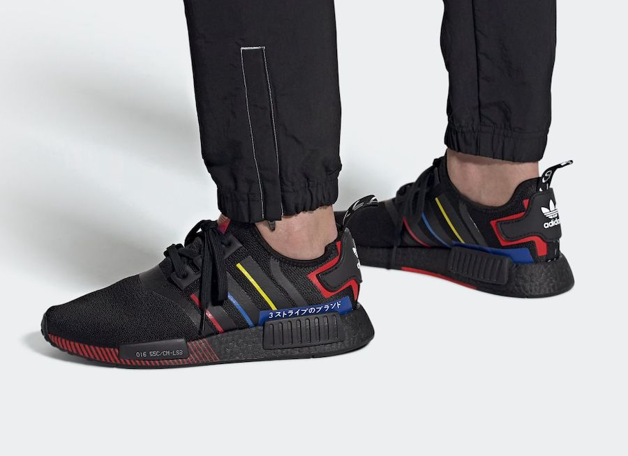 adidas NMD R1 Olympic Pack Black FY1434 Release Date Info