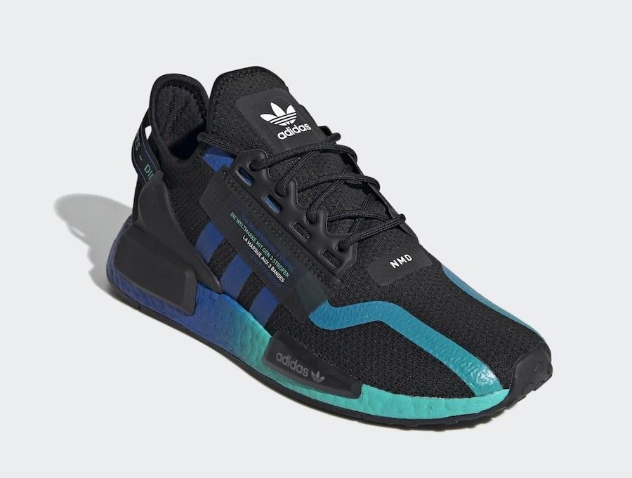 adidas NMD R1 V2 Aqua FY5913 Release Date Info