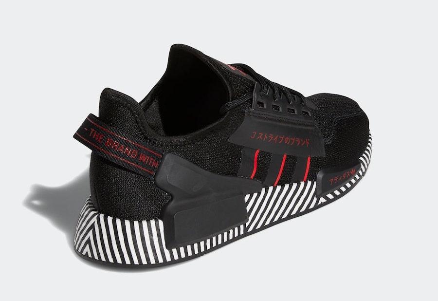 adidas NMD R1 V2 Dazzle Camo Black FY2104 Release Date Info