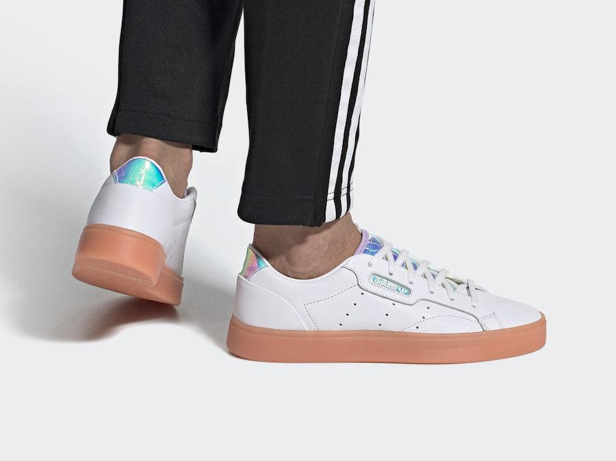 adidas Sleek Iridescent FW3718 Release Date Info