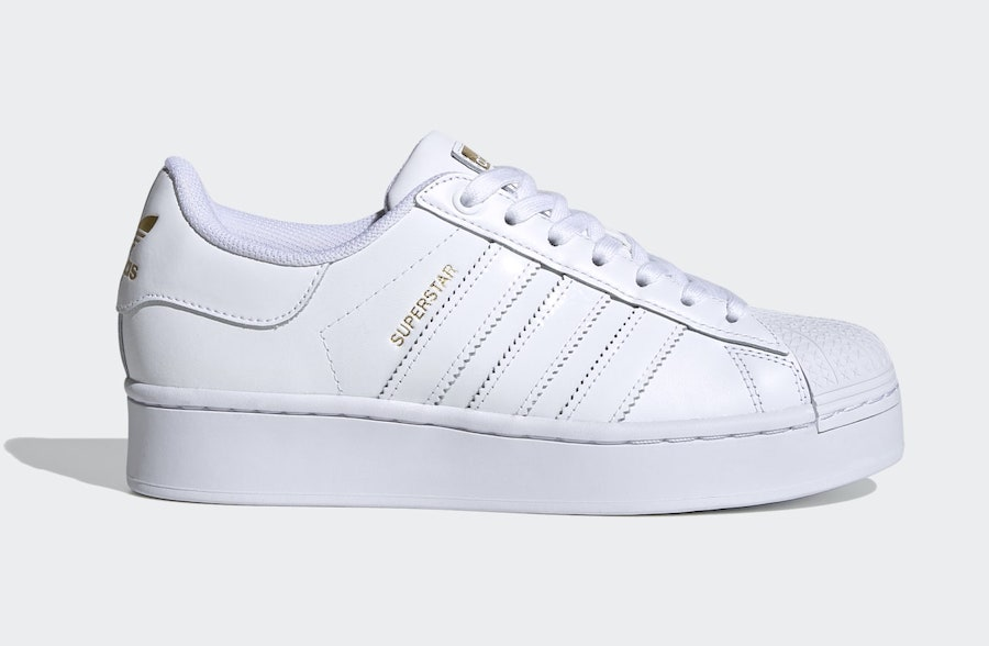 adidas Superstar Bold White Gold FV3334 Release Date Info
