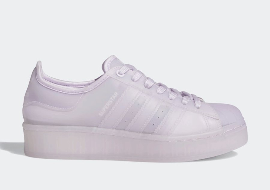 adidas Superstar Jelly Purple Tint FX4323 Release Date Info