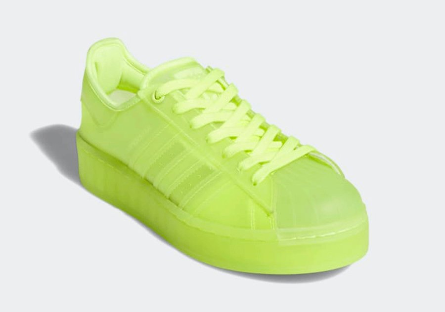 adidas Superstar Jelly Solar Yellow FX2987 Release Date Info