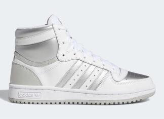 adidas Top Ten Hi Silver Toe FX8524 Release Date Info