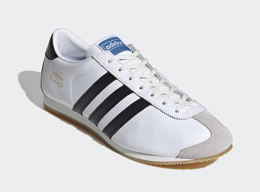 adidas Training 76 SPZL White Black EH3058 Release Date Info
