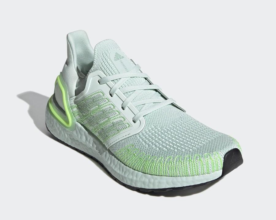 adidas Ultra Boost 2020 Green Tint EG0729 Release Date Info