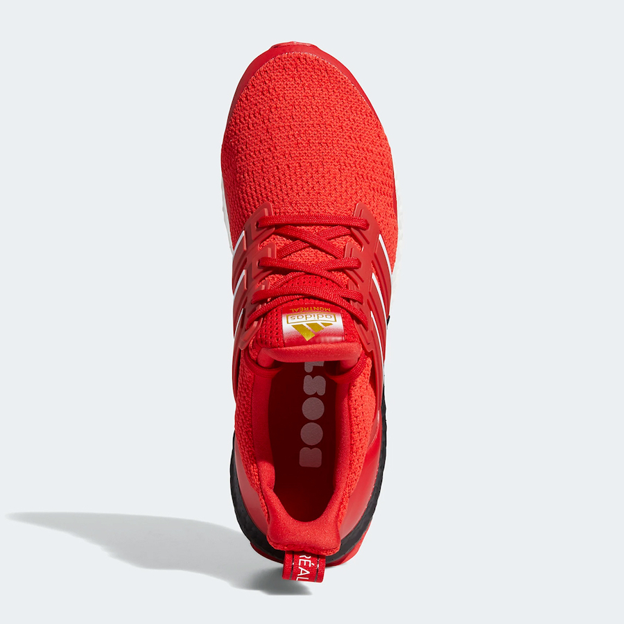 adidas Ultra Boost DNA Montreal Scarlet FY3426 Release Date Info