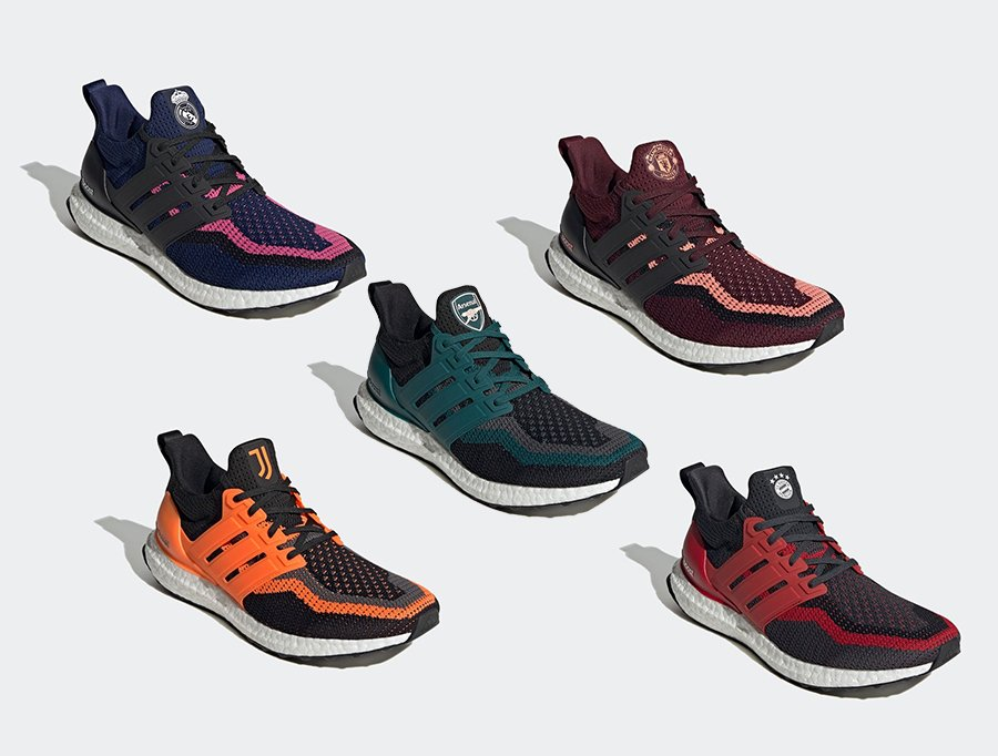 Manchester United x UltraBoost DNA 'Football Pack'