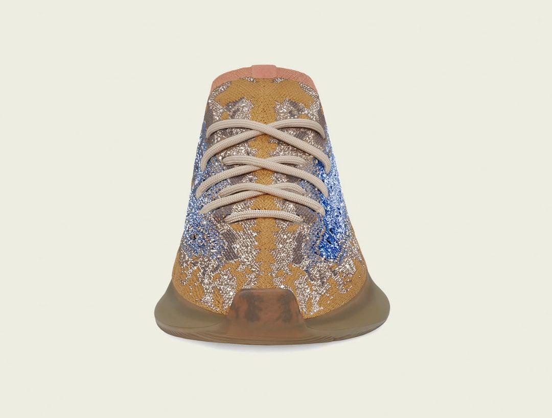 adidas Yeezy Boost 380 Blue Oat Reflective FX9847 Release Date