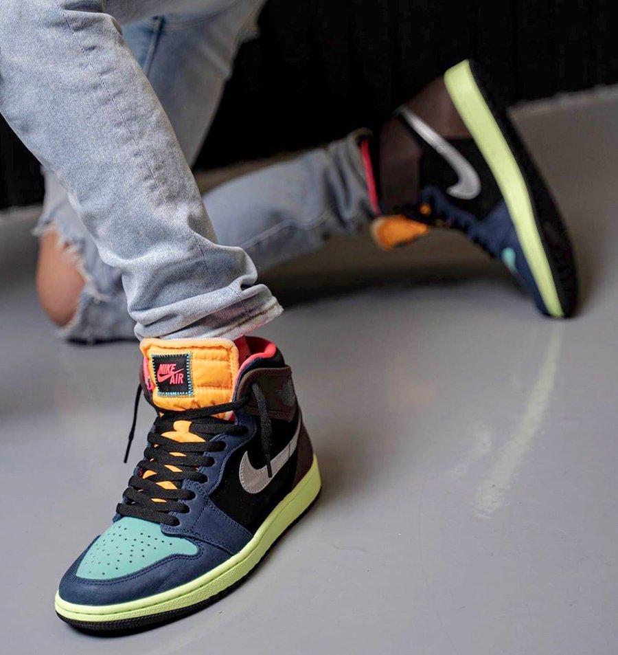 Air Jordan 1 Bio Hack 555088-201 On Feet