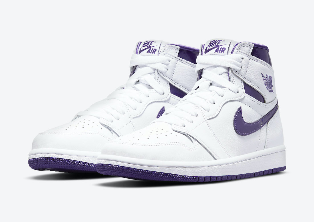 Air Jordan 1 Court Purple Womens CD0461-151 Release Date