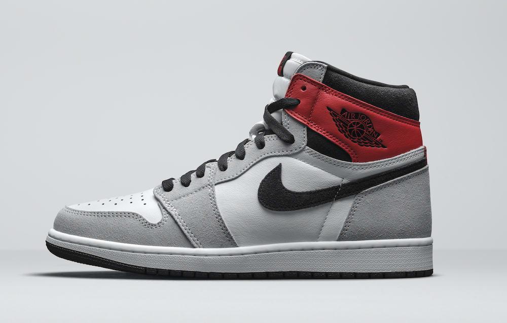 Air Jordan 1 High OG Smoke Grey 555088-126 Release Date