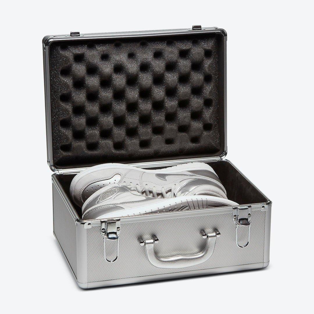 Air Jordan 1 Japan Metallic Silver DA0382-029 Release Date